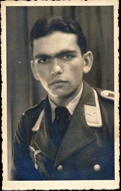 Original period photo WW2 German early uniform Luftwaffe Unteroffizier