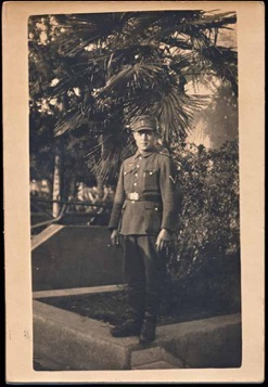 Original WW2 German Photo Army M-43 cap