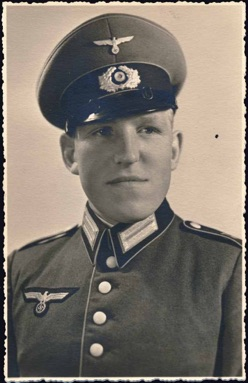 Original WW2 German Army EM Praade Dress Uniform Photo