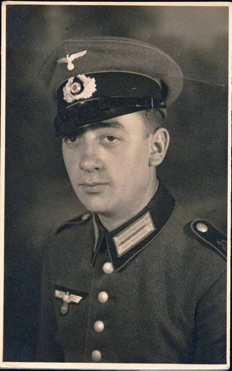 Original WW2 German Army EM Praade Dress Uniform Photo Artillery