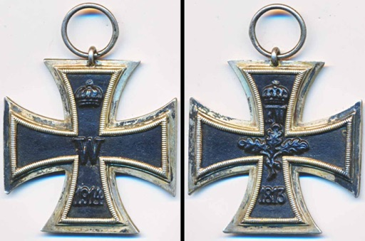 WW1 German Iron Cross 2nd Class Eiserneskreuz 2 Klasse EK2 WWI