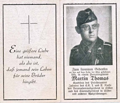 WW2 German Death Card Sterbebild Panzer Kuban Bridge Head